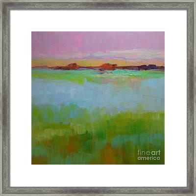 Blue Lagoon Framed Print by Virginia Dauth