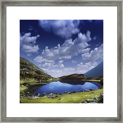 Blue Lake In The Pirin Mountains Framed Print by Evgeny Kuklev