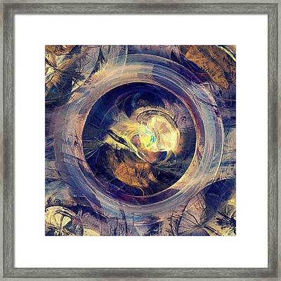 Blue Legend Framed Print