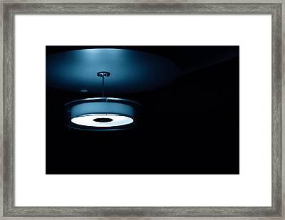 Blue Light Framed Print