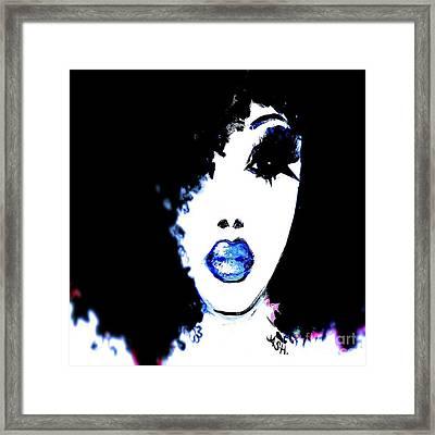 Blue Like Morning Framed Print