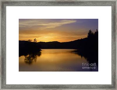 Blue Love Framed Print by Sheldon Blackwell