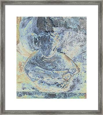 Blue Lute Player Framed Print by Stephanie Grant