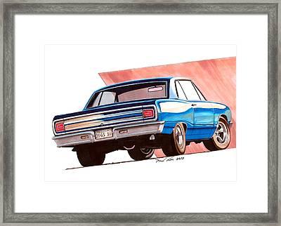 Blue Malibu Framed Print by Paul Kim