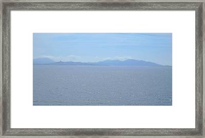 Blue Marseille Framed Print