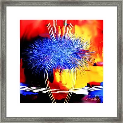Blue Memories Framed Print