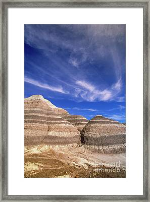 Blue Mesa Framed Print