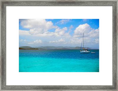 Blue Framed Print by Michael Glenn