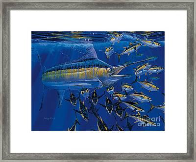 Blue Millennium Framed Print