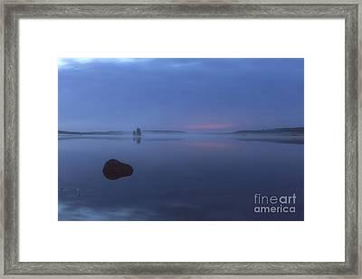 Blue Moment Framed Print by Veikko Suikkanen