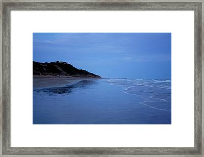 Blue Mood Framed Print