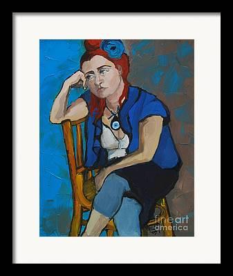Expresion Framed Prints