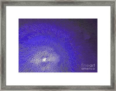Blue Moon Framed Print by Alys Caviness-Gober