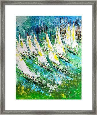 Blue Moon Chicago - Sold Framed Print