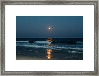 Framed Print featuring the photograph Blue Moon by Cynthia Guinn