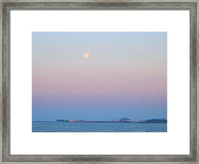 Blue Moon Eve Framed Print
