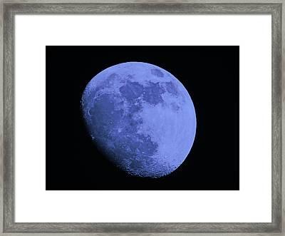 Blue Moon Framed Print by Tom Gari Gallery-Three-Photography