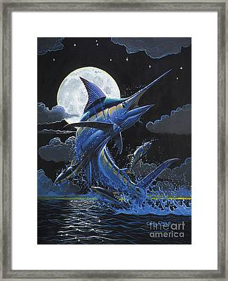 Blue Moon Off0069 Framed Print by Carey Chen