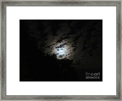 Blue Moon  Framed Print