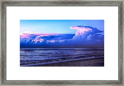 Blue Morning Framed Print by Don Durfee