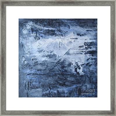 Blue Mountain Framed Print by Susan  Dimitrakopoulos