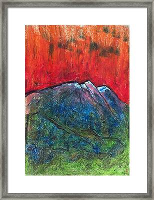 Blue Mountains Framed Print by Yuri Lushnichenko