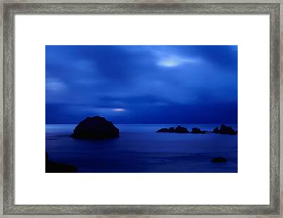 Blue Mystique Framed Print