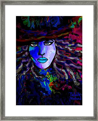 Blue Mystique Framed Print by Natalie Holland