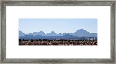 Blue Nevada 2 Framed Print