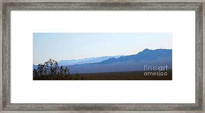 Blue Nevada Framed Print