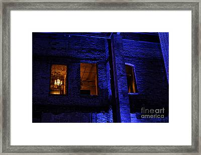 Blue Night Framed Print