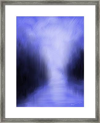 Blue Night Framed Print by Kume Bryant