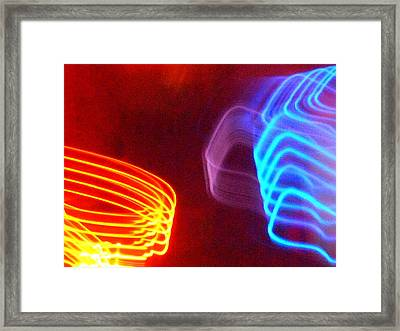 Blue Of The Night Meets The Gold Of The Day Framed Print by James Welch