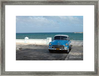 Blue Oldtimer Framed Print