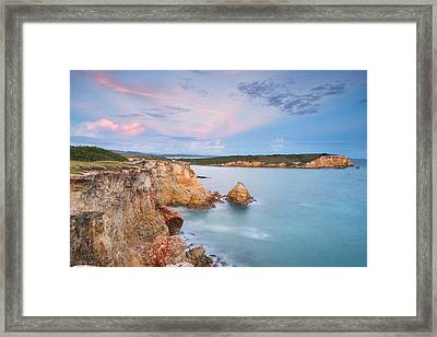 Blue Paradise Framed Print by Photography  By Sai