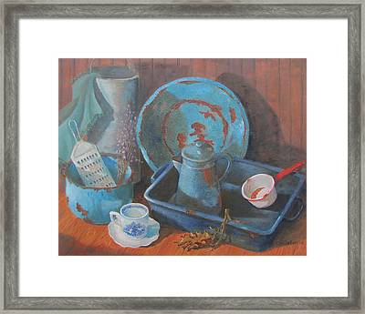 Blue Period Framed Print by Tony Caviston