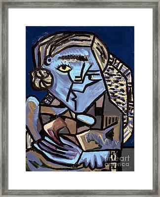 Blue Picasso Framed Print by Gerhardt Isringhaus