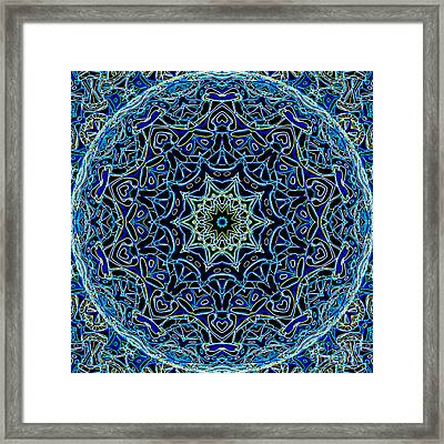 Blue Planet Framed Print by Ron Brown