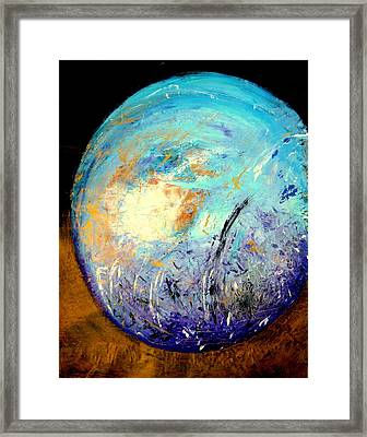 Blue Planet Framed Print