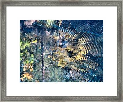 Blue Pool II Framed Print