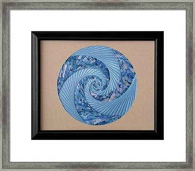 Blue Pool Framed Print