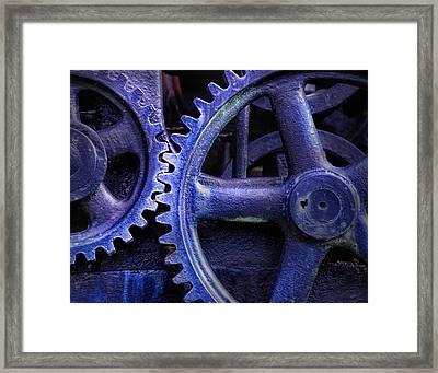 Blue Power Framed Print by David and Carol Kelly
