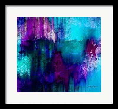 Teal Annpowellart Framed Prints