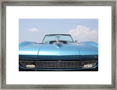 Blue Ray Framed Print