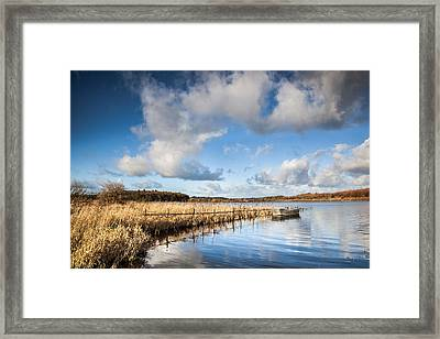 Blue Reflections Framed Print by Christine Smart