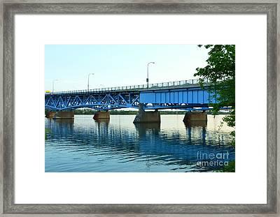 Blue Reflections Framed Print by Kathleen Struckle