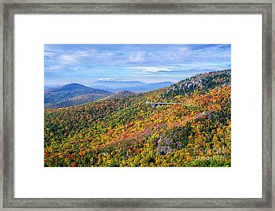 Blue Ridge Colors Framed Print
