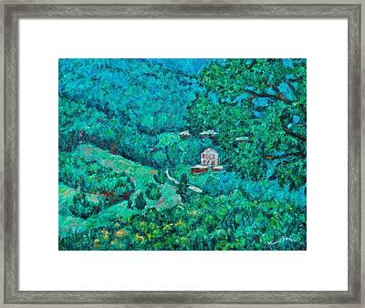 Blue Ridge Magic Framed Print by Kendall Kessler