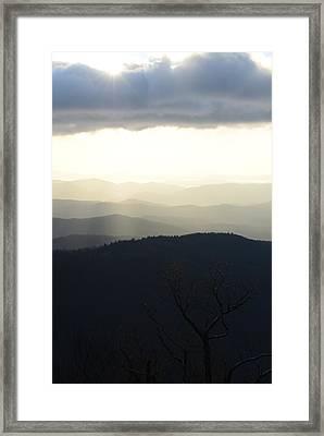 Blue Ridge Mist 2 Framed Print