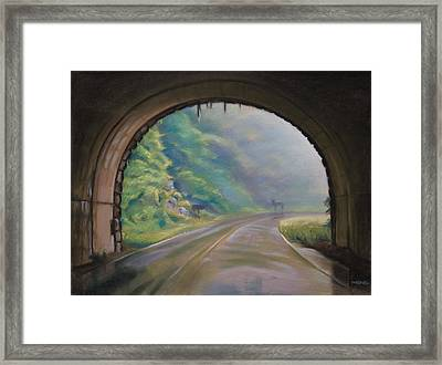 Blue Ridge Morning Framed Print by Christopher Reid